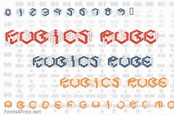 Kubics Rube Font