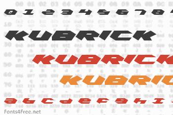 Kubrick Font