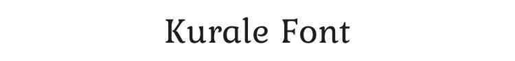 Kurale Font Preview