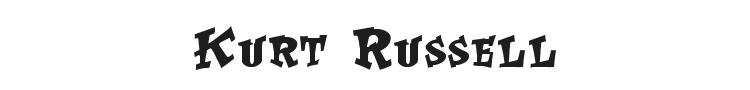Kurt Russell Font Preview