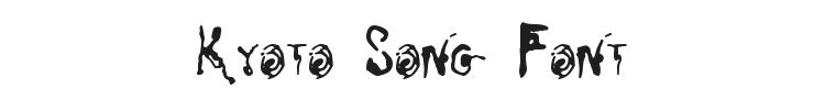 Kyoto Song Font