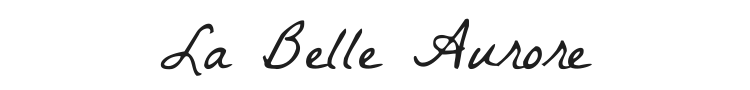 La Belle Aurore Font Preview