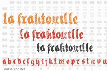 La Fraktouille Font