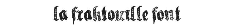 La Fraktouille Font Preview