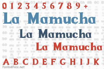 La Mamucha Font