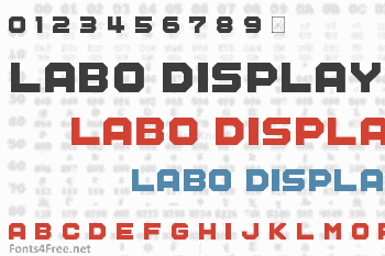 Labo Display Font