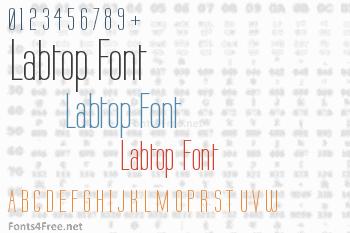 Labtop Font