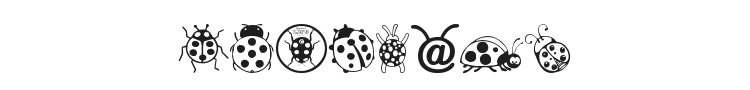 Ladybug Dings Font Preview