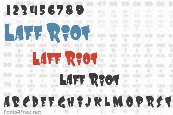 Laff Riot Font