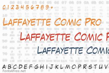 Laffayette Comic Pro Font