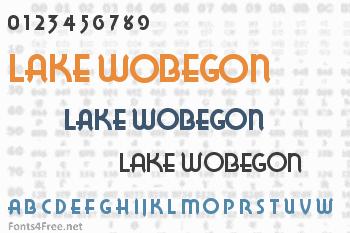 Lake Wobegon Font