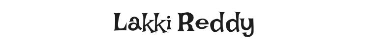 Lakki Reddy Font Preview