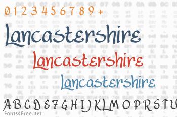 Lancastershire Font