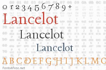 Lancelot Font