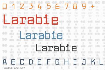 Larabie Font