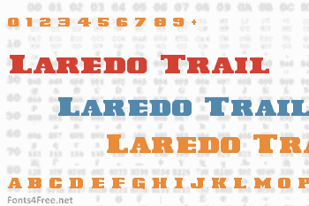 Laredo Trail Font