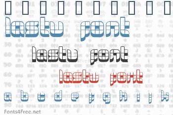Lastu #2 Font
