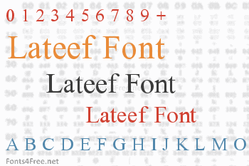 Lateef Font