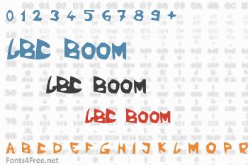 LBC Boom Font