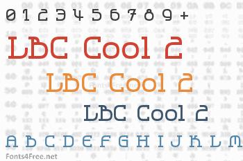 LBC Cool 2 Font