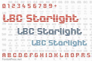 LBC Starlight Font