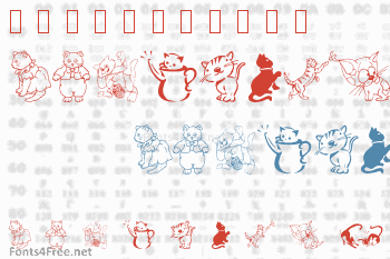 LCR Cats Meow Font