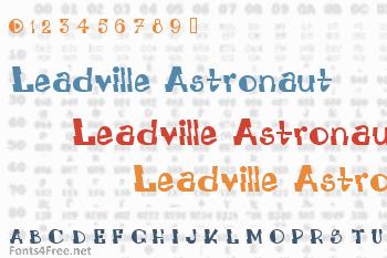 Leadville Astronaut System Font