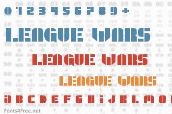 League Wars Font