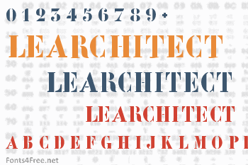 LeArchitect Font