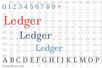 Ledger Font
