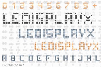 Ledisplayx Font
