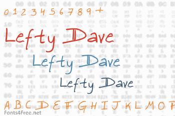 Lefty Dave Font