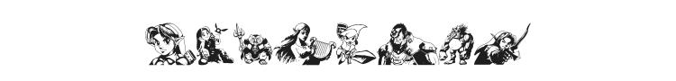 Legend Of Zelda TriFont Font