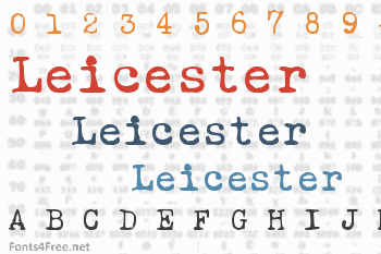 Leicester Font