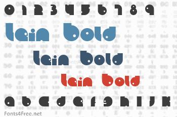 Lein Bold Font
