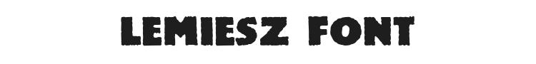 Lemiesz Font Preview