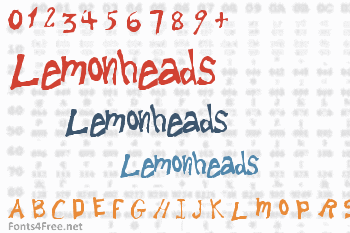 Lemonheads Font