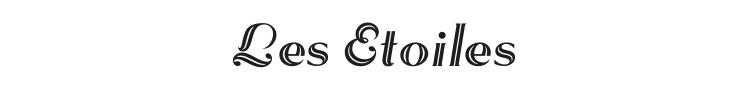 Les Etoiles Font
