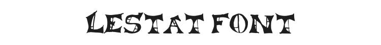 Lestat Font Preview