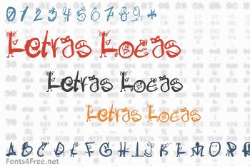 Letras Locas Font