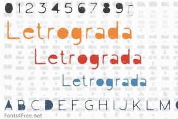 Letrograda Font