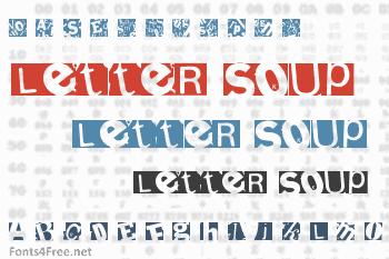 Letter Soup Mainz Font