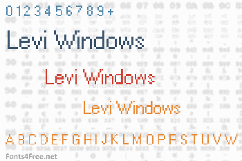 Levi Windows Font