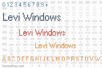 Levi Windows Font