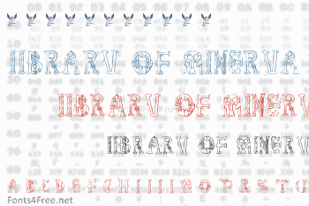 Library of Minerva Font