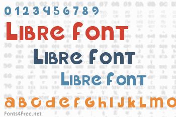 Libre Font