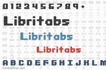 Libritabs Font