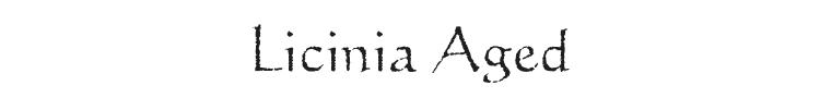 Licinia Aged