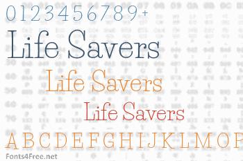 Life Savers Font