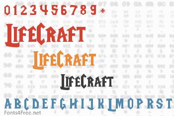 LifeCraft Font